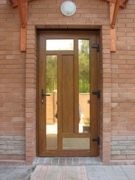 дизайн входной двери из пвх